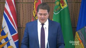 Scheer says problem for Canadians is way Trudeau has 'divided' them