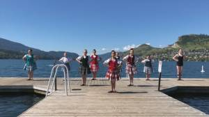 Okanagan Highland Dancers join forces in online fundraiser