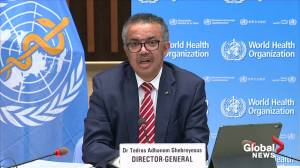 Coronavirus: WHO director-general wishes 'full and swift recovery' to President Trump, First Lady amid COVID-19 diagnosis (00:19)