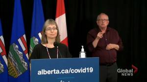 Hinshaw acknowledges 'there is frustration'  over photos of Kenney on patio (01:03)