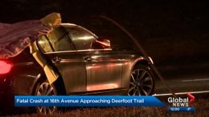 Calgary police investigate fatal crash