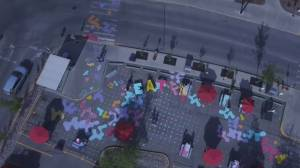 Kingsway Mall launches Eat and Seek interactive art installation (04:42)