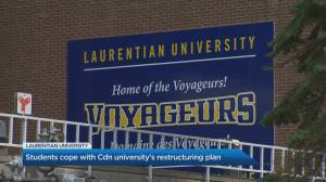 Laurentian university restructuring leaves some prospective graduates in limbo (05:22)
