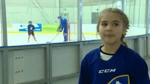 Hockey Alberta hosts first ever 'Female Hockey Day' in Lethbridge
