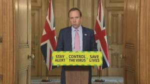Coronavirus outbreak: U.K. health secretary reports no new deaths in Northern Ireland