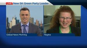 Introducing the new Saskatchewan Green Party leader, Naomi Hunter