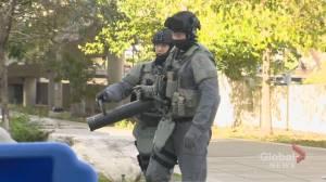 Police raid downtown Toronto condo
