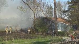 Fire damages home on 5th Line of Asphodel near Norwood (00:38)