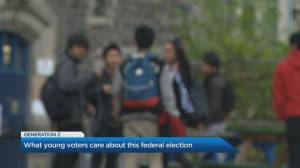 A look at Canada's youngest voters days before federal election