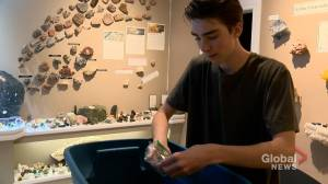 Sesula Mineral and Gem Museum adds new collections (01:49)
