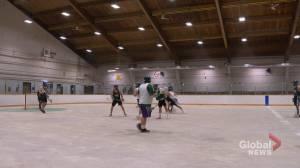 Saskatchewan SWAT lacrosse club grateful for first game action since 2019 (01:55)