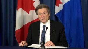 Coronavirus: Mayor Tory supports moving Toronto back into grey-lockdown level (01:26)