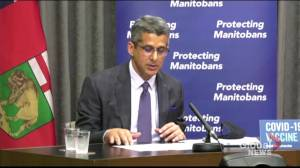 Manitoba Liquor and Lotteries CEO explains 2  upcoming COVID-19 vaccine lotteries (01:15)