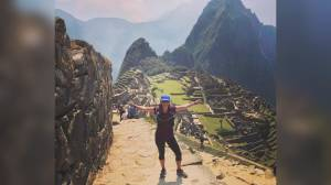B.C. woman wins first-ever marathon