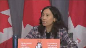 Coronavirus: Tam says Ontario's positivity rate still 'relatively low' despite rising COVID-19 cases