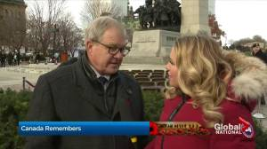 Remembrance Day: Veterans Affairs minister addresses priorities for veterans care