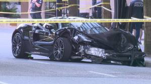 Baby girl killed in downtown Vancouver crash (02:05)