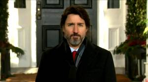 Coronavirus: Trudeau says CERB repayments shouldn't be 'extra stressor' over holidays (01:18)