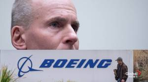 Boeing CEO Dennis Muilenburg steps down