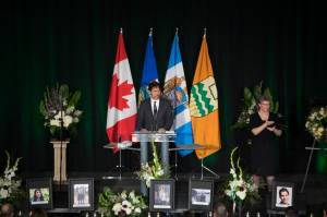 Packed Edmonton memorial honours Iran plane crash victims