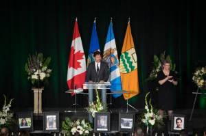 Packed Edmonton memorial honours Iran plane crash victims