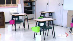 Lack of substitutes during the pandemic puts 'burden' on teachers, says teaching association (01:39)