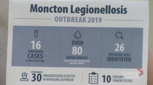 N.B. public health officials decaled Legionnaires outbreak in Moncton over