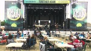 30K people attended Together Again concert series in Edmonton (00:58)