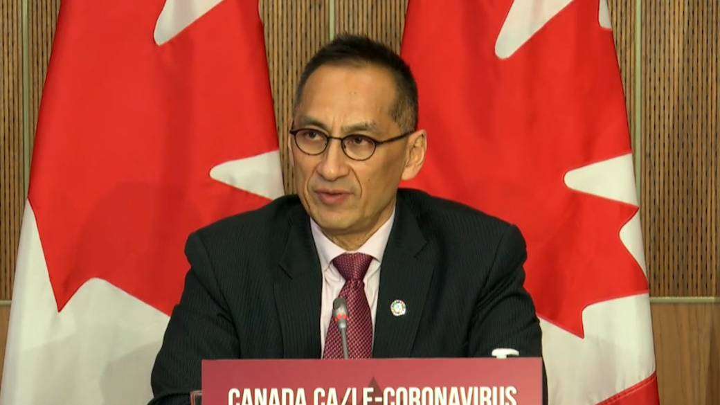Click to play video 'Coronavirus: Canadian officials discuss vaccine distribution to Indigenous communities'