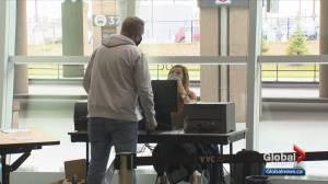 Calgary International Airport starts pilot COVID-19 testing program (02:41)
