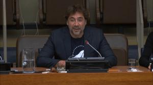 Javier Bardem Urges UN To Protect Oceans