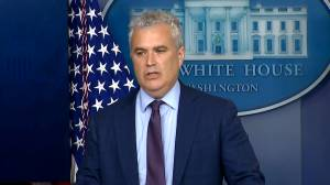 White House responds to calls to pause Johnson & Johnson vaccine over blood clot reports (03:02)