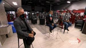 Some Quebec gym owners vow to reopen despite pandemic restrictions (02:14)