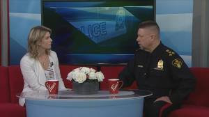Saskatoon Police Chief Troy Cooper discusses policing in Saskatoon