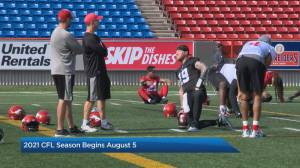 The Calgary Stampeders will be back in action in August (05:33)