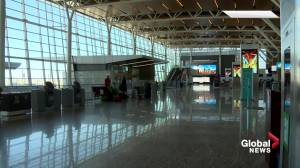 How COVID-19 travel restrictions are affecting Edmonton International Airport