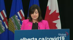 $262M will be dispersed to Alberta school boards in 2 phases on a per student basis (02:38)
