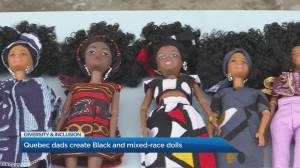 Quebec dads tackle lack of diversity in toys with Black and mixed-race dolls (04:54)