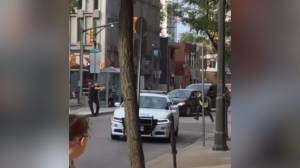 Video provides new angle of downtown London shooting