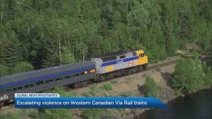 What's behind the rise in violence during Via Rail travel?