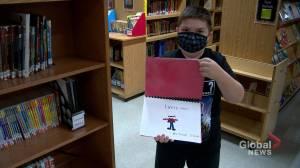 'He's inspiring other kids': Autistic child writer making waves in Saskatchewan town (01:55)