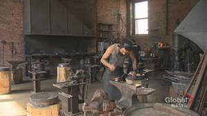 City of Montreal steps in to help save blacksmith tradition