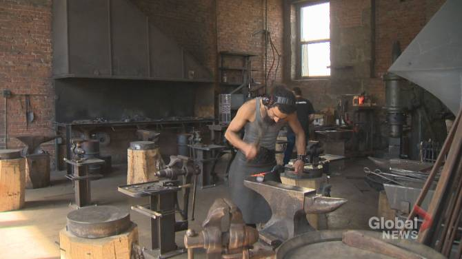 Les Forges de Montreal: Saving the blacksmith trade and its heritage site