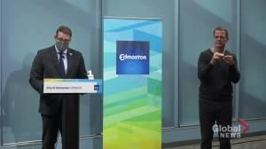 Edmonton making masks mandatory in city facilities, on public transit