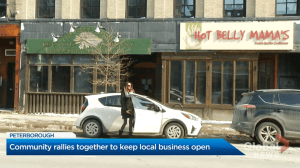 Peterborough residents rallying to try to save Olde Stone Brewing Company and Hot Belly Mama's restaurants (02:33)