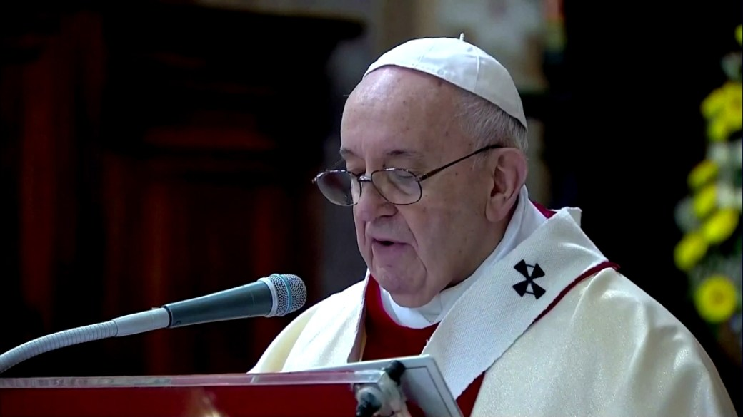 Click to play video 'Coronavirus outbreak: Pope calls for global solidarity after COVID-19 pandemic, warns 'selfish indifference' worse than virus'