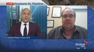 Political scientist Duane Bratt discusses Alberta's purchase of part of Keystone XL