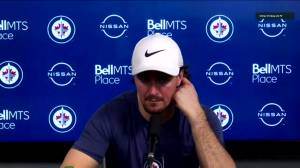 RAW: Mark Scheifele speaks after loss to Leafs (04:24)
