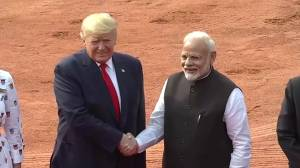Trump clinches $3 billion military equipment sale during India visit