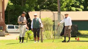 The Gananoque Golf Club celebrated its 100th anniversary with a historic game of golf (02:12)